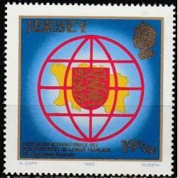 Jersey 1983. National symbols