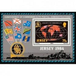 Jersey 1984. Post history