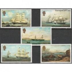 Jersey 1985. Sailing ships...