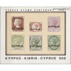 Kipras 1980. Ženklai...