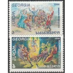 Gruzija 1998. Nacionalinės...