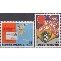 Graikija 1983. Pašto kodai