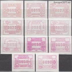 Graikija 1984. Pašto...