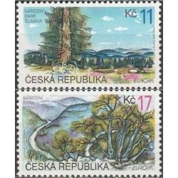 Čekija 1999. Gamtos...