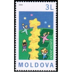 Moldavija 2000. Stilizuotas...