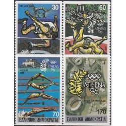 Greece 1989. Olympic games...