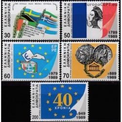 Graikija 1989. Metų įvykiai
