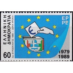 Greece 1989. Elections of...