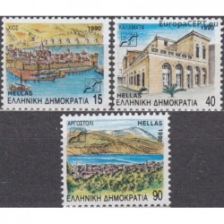 Greece 1990. Regions and...