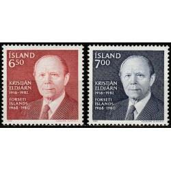 Iceland 1983. 3rd President