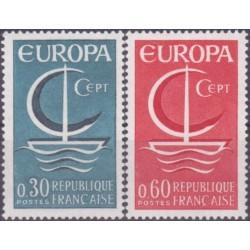 France 1966. CEPT: Symbolic...