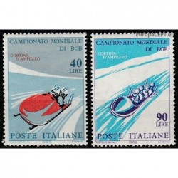 Italy 1966. Bobsleigh