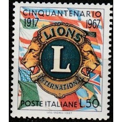 Italy 1967. Lions Clubs