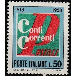 Italija 1968. Pašto istorija