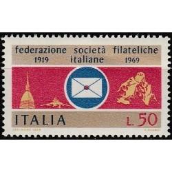 Italy 1969. Post history
