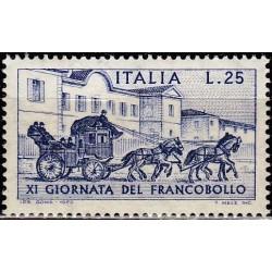 Italija 1969. Pašto ženklo...