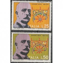 Italy 1972. Writer