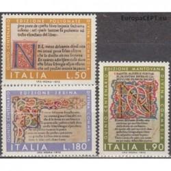 Italy 1972. Literature artwork