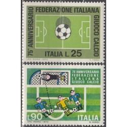 Italy 1973. Soccer