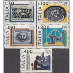 Italy 1976. Post history