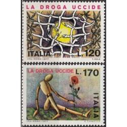 Italy 1977. Anti-drug campaign