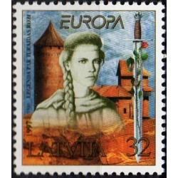 Latvia 1997. Tales and legends