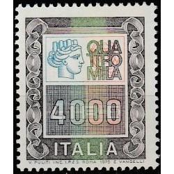Italija 1979. Standartinė...