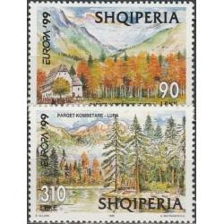 Albanija 1999. Gamtos...