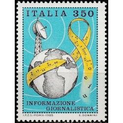 Italija 1985. Žiniasklaida