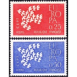 France 1961. CEPT: Stylised...