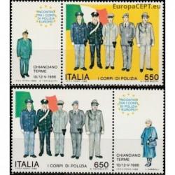 Italija 1986. Policija