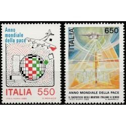 Italy 1986. Year of Peace