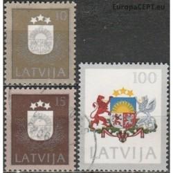 Latvija 1991. Herbai