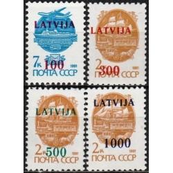 Latvija 1991. Standartinė...