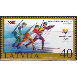 Latvia 2002. Winter...