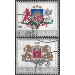 Latvia 2015. Coats of arms