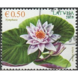 Latvia 2016. Water lily