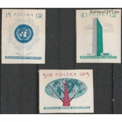 Poland 1957. United Nations