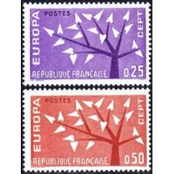 France 1962. CEPT: Stylised...