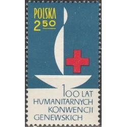 Poland 1963. Red Cross