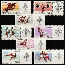Poland 1967. Olympic Games...