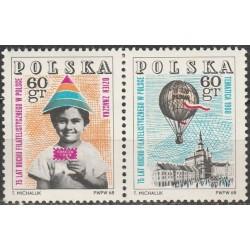 Lenkija 1968. Pašto ženklo...