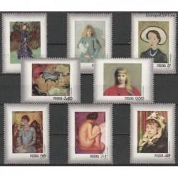 Lenkija 1971. Moterų portretai