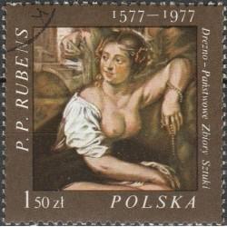 Poland 1977. Rubens paintings