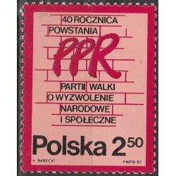 Lenkija 1982. Partija