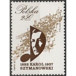 Poland 1982. Composers