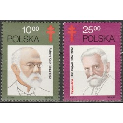 Poland 1982. Famous medical...