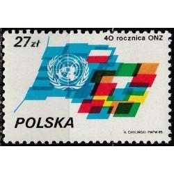 Lenkija 1985. Jungtinės tautos