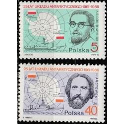 Poland 1986. Polar research