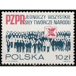 Poland 1986. Party congress